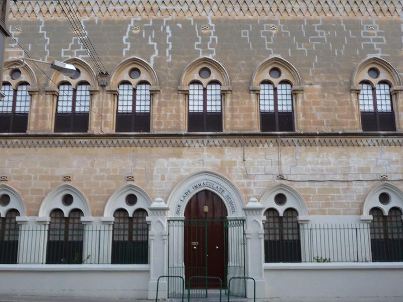 OUR LADY IMMACULATE SCHOOL, Kanonku Bonnici Street, Hamrun, Malta